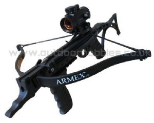 Hori-zone Crossbows 80lb Red Back Self Cocking Pistol Crossbow from Horizone Crossbows